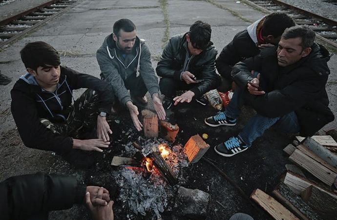 Bosna'da 7 bin sığınmacı Batı Avrupa'dan izin bekliyor