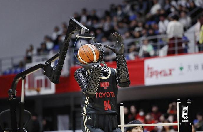 Robot basketçinin performansını yapay zeka artırdı