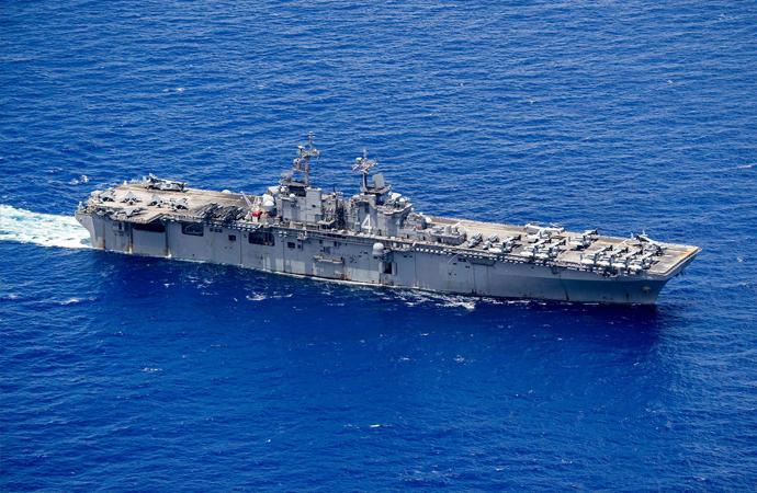 Amerikan savaş gemisinde koronavirüs tespit edildi