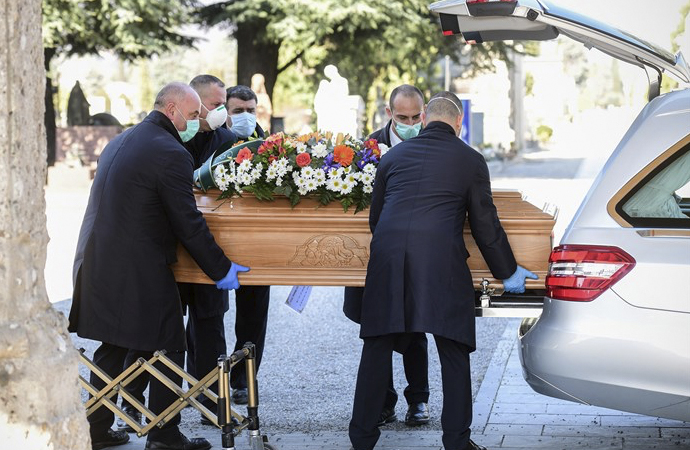 İtalya'da koronavirüsten ölenlerin sayısı 3 bine ulaştı