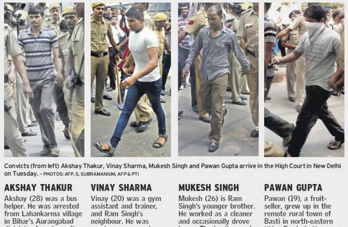 Hindistan'da bu 4 kişi idam edildi
