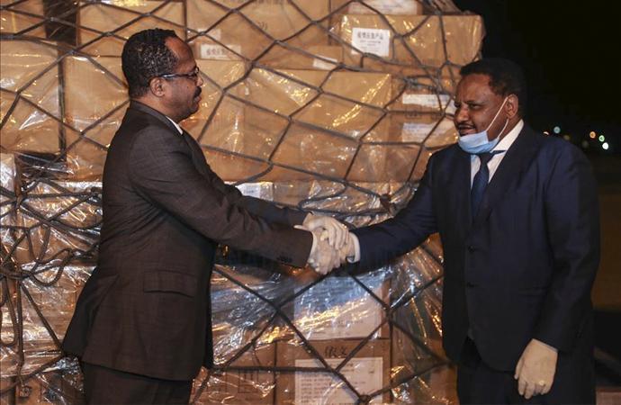 Çin'den Sudan'a gönderilen tıbbi yardım Hartum'a ulaştı