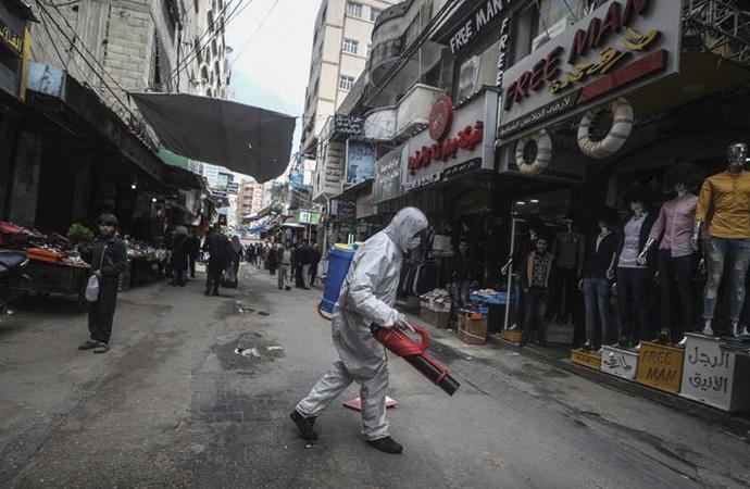 İsrail ablukası Gazze'de koronavirüsle mücadeleyi sekteye uğratıyor