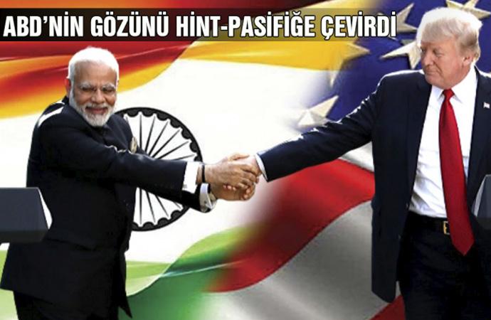 Amerika ve Hindistan, Hint-Pasifik Stratejisi'ne yöneliyor