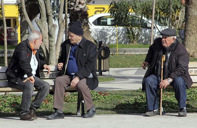 Türkiye'de yaşlı nüfus son beş yılda yüzde 22 arttı