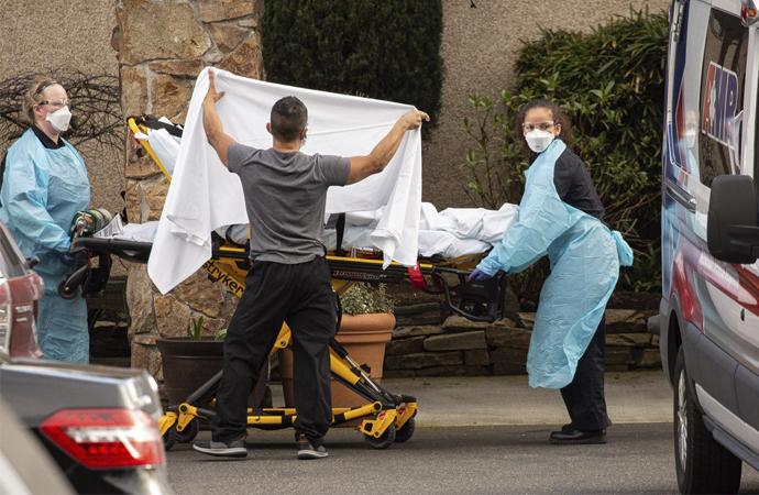 Amerika'da koronavirüs kaynaklı ölü sayısı 150'ye yükseldi