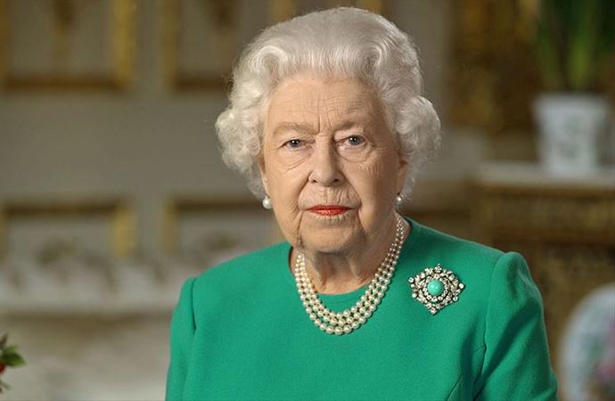 Kraliçe, İngiliz halkına 5. kez hitap etti