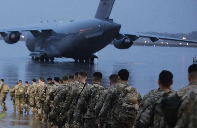 Amerika, kuvvetlerini yeniden konuşlandıracağını, resmi yazıyla Irak'a iletti
