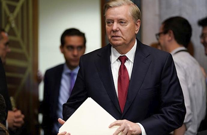 """Graham'dan """"Çin'i çok sert cezalandırılalım"""" teklifi"""