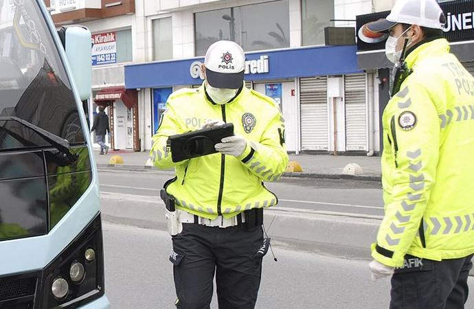İstanbul'da 90 kişiye idari para cezası