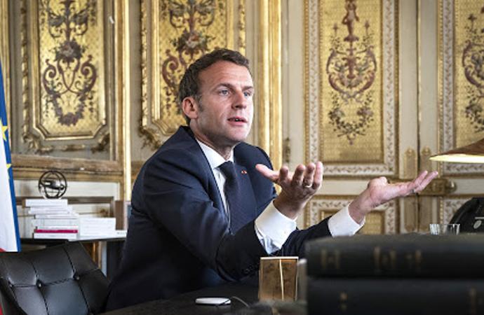 Macron: Çin'de Virüsle ilgili bilmediğimiz şeyler oldu