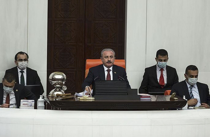 Mustafa Şentop başkanlığında 23 Nisan oturumu