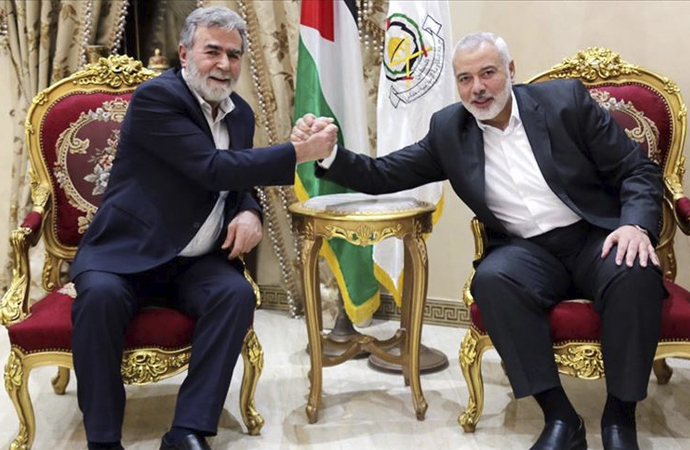 Hamas ve İslami Cihad liderleri İsrail'de kurulacak yeni hükümeti görüştü