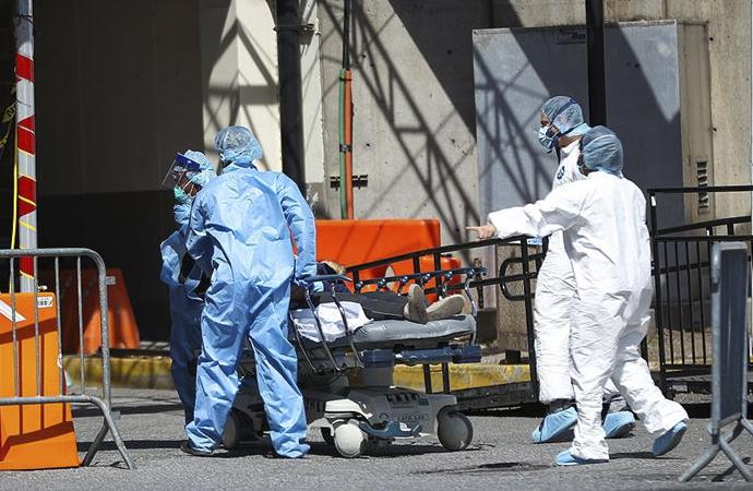 Amerika'da salgında ölenlerin sayısı hızla artıyor