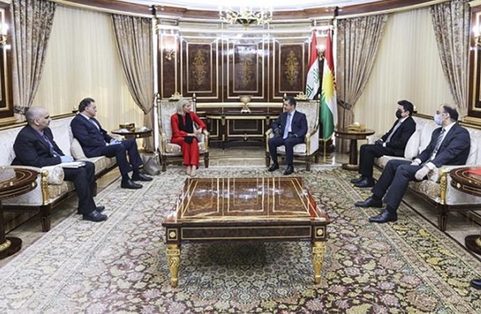 BM Irak temsilcisi ile görüşen Barzani'den açıklama