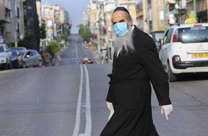 "İsrail'de ""Bağış yapana Kovid-19'dan koruyucu muska"""