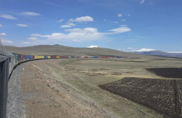 940 metrelik ihracat treni