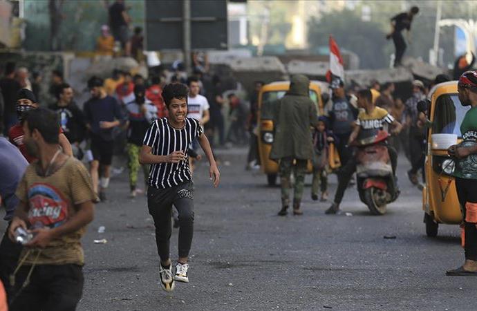 Irak'ta yeniden hükümet karşıtı gösteriler: 1 kişi öldü