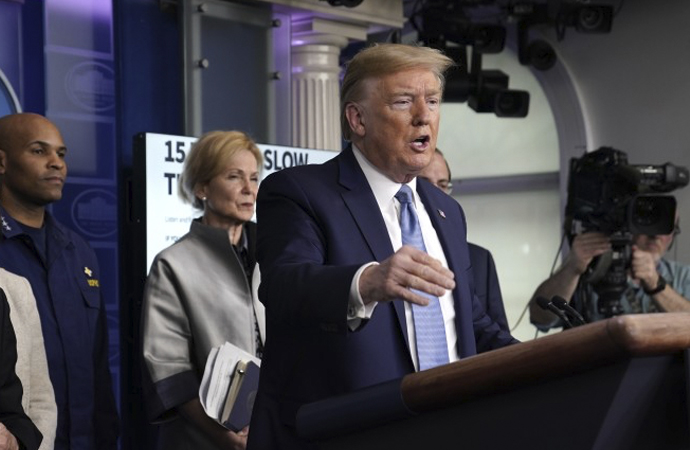 """Trump üç aşamalı """"Normale Dönüş"""" planını açıkladı"""
