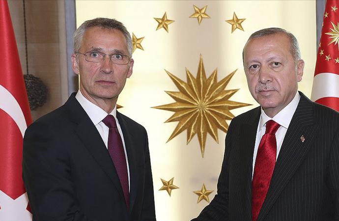 Erdoğan-Stoltenberg telefon görüşmesi