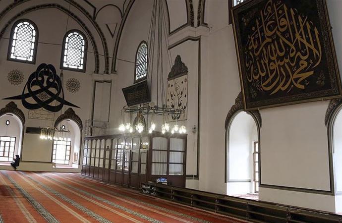 """""""Osmanlı Payitahtı"""" Bursa'nın camileri Ramazan'da sessiz"""