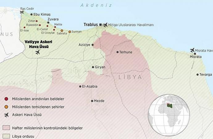 Vatiyye Üssü yeniden Libya ordusunda