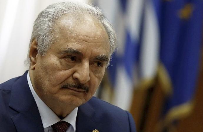 'Hafter, Rusya'nın telkini ile ateşkes ilan etti'