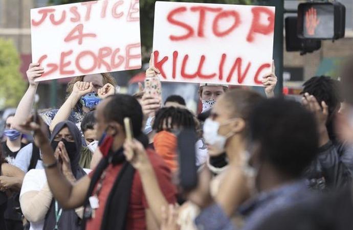 Amerika'da protestolar ikinci gününde