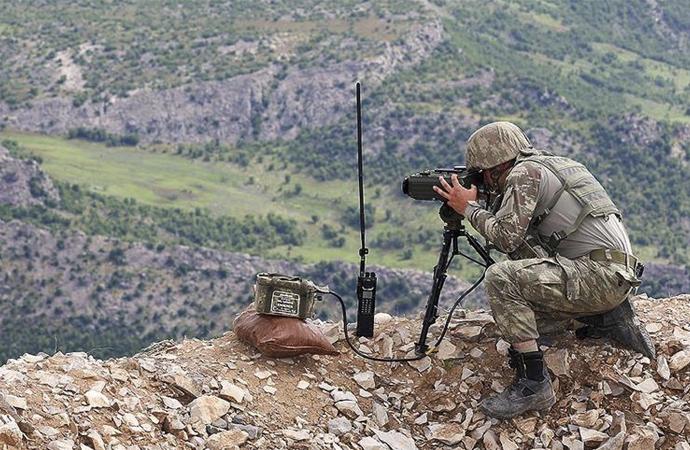 YPG/PKK'ya nisanda ağır darbe: 122 terörist etkisiz hale getirildi