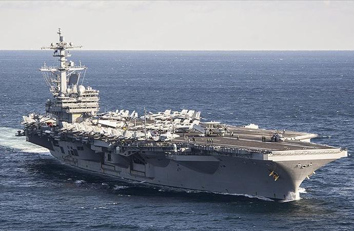 Amerikan uçak gemisi Roosevelt'i virüs sardı