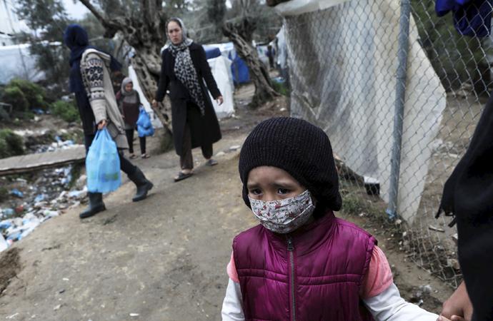 Almanya, Yunanistan'daki kampları eleştirdi: Utanç verici