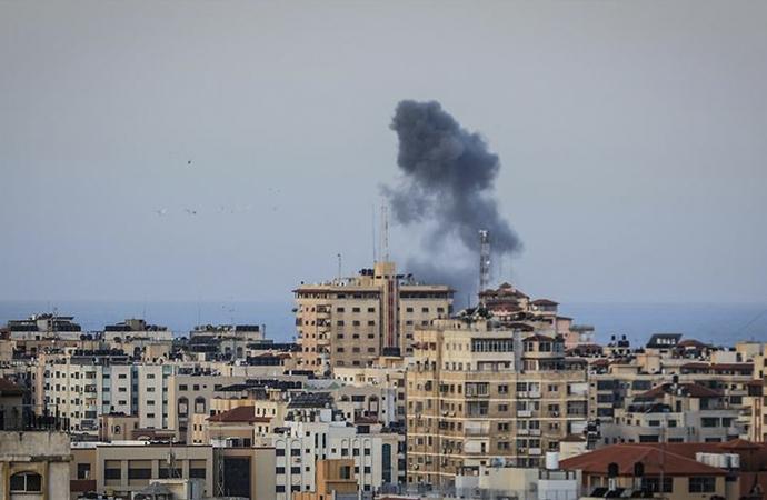 İşgalci'den Gazze'ye topçu saldırısı