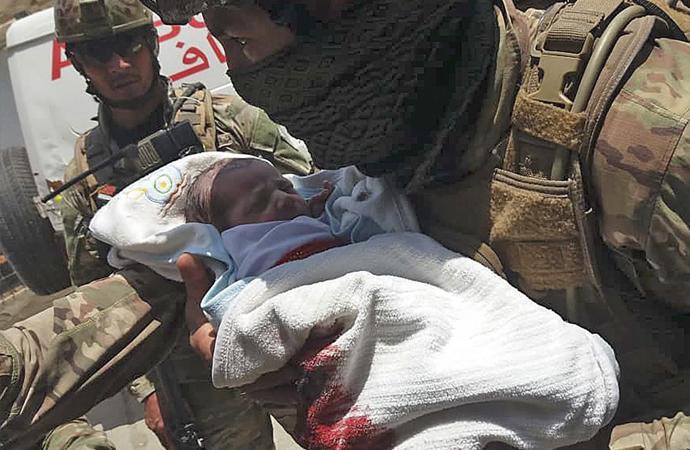 Afganistan'daki saldırıda hayatını kaybedenlerin sayısı 24'e yükseldi