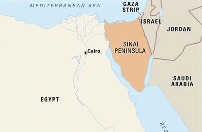 Sina Yarımadasındaki Amerikan askerleri tartışılıyor