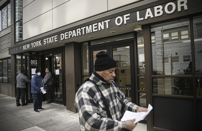 ABD'de işsizlik oranı yüzde 4,4'ten yüzde 14,7'ye çıktı