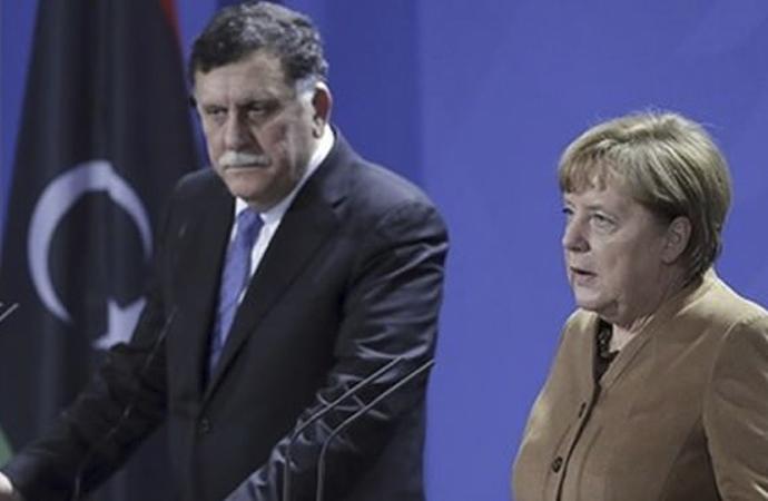 Merkel-Serrac görüşmesi