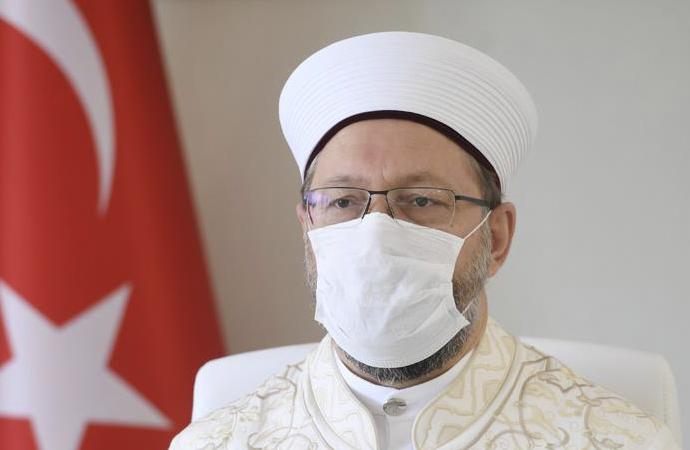 """Ali Erbaş'tan Dâru'l İftâ'ya """"fetih"""" yanıtı"""