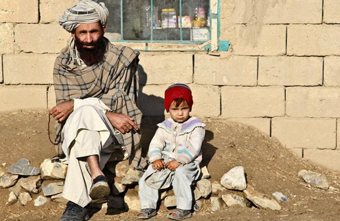 Afganistan etnik grup haritası