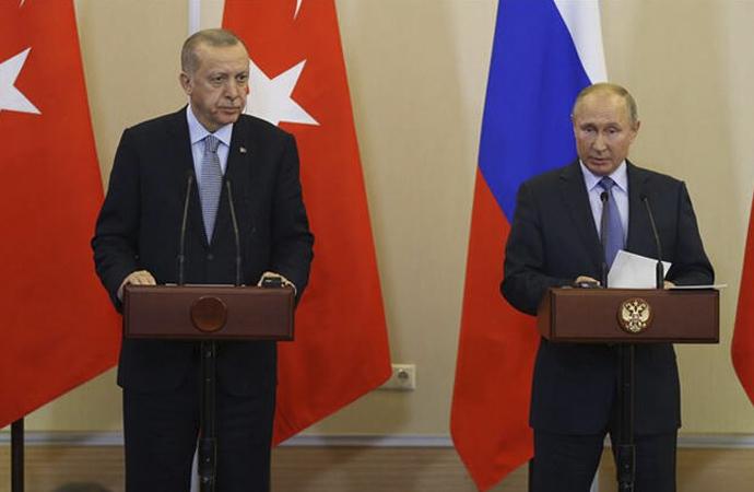 Erdoğan-Putin telefon görüşmesi