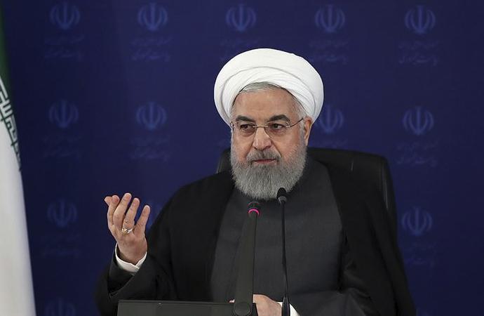 Ruhani: ABD yaptırımları İran'ın gelirini her yıl 50 milyar dolar azalttı