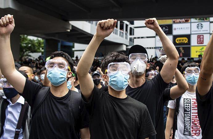 Hong Kong: Protestolarda Tayvan ve ABD'nin parmağı var