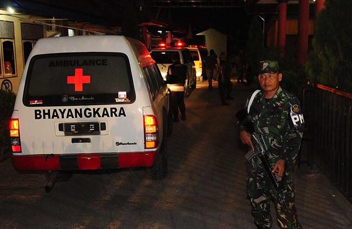 İngiliz yapımı askeri savaş uçağı Endonezya'da düştü