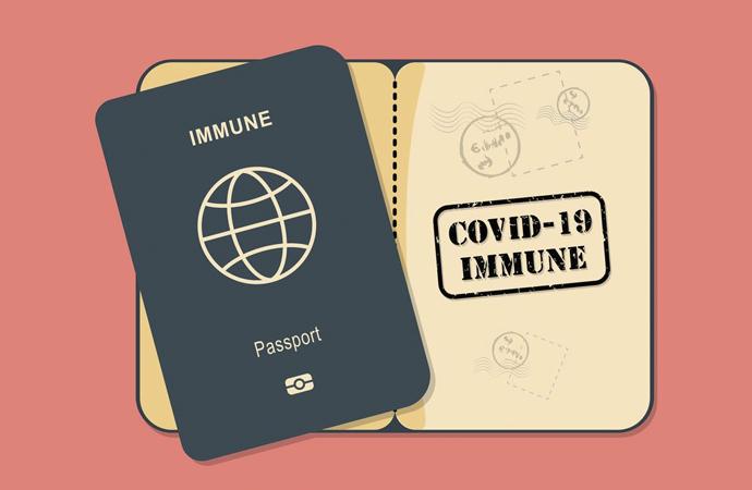"""""""Bağışıklık pasaportu"""" veya """"Risksiz sertifika"""" uygulaması"""