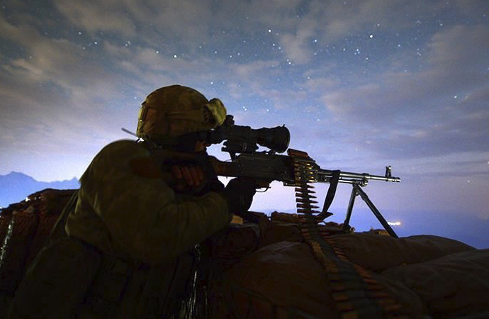 TSK'dan Irak'ın kuzeyine 'Pençe-Kaplan Operasyonu'