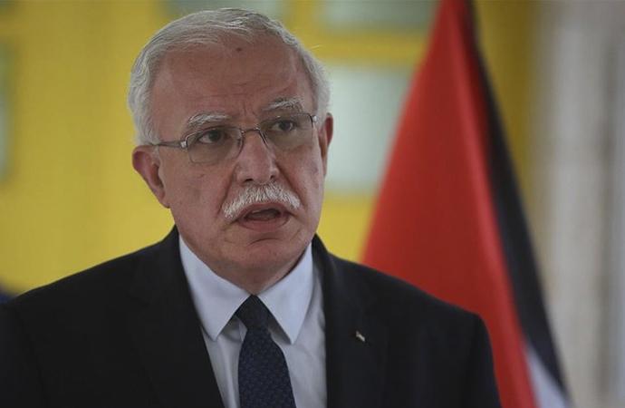 """Filistin Dışişleri Bakanı """"İlhak"""" kararı nedeniyle İsrail'le görüşmeyeceklerini söyledi"""