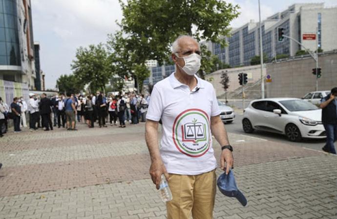 İstanbul Barosu Başkanı, Ankara'ya yürümeye başladı