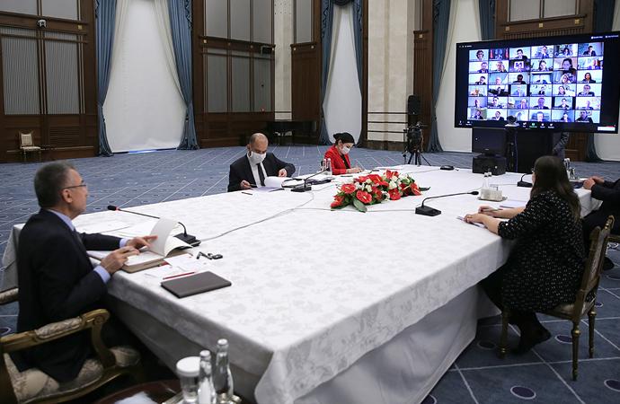 Fuat Oktay TÜSİAD toplantısında konuştu