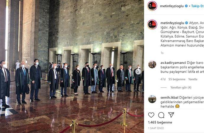Feyzioğlu'nun paylaştığı fotoğraf istifa getirdi