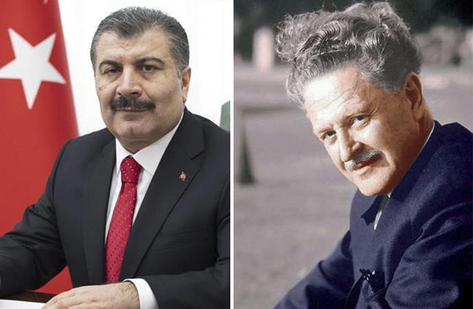 Sağlık Bakanı Fahrettin Koca, Nazım Hikmet'i andı