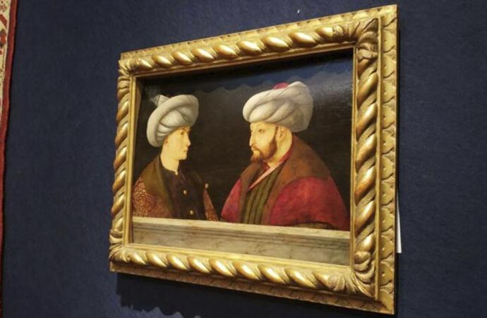 Rekor fiyata alınan Fatih Sultan Mehmet tablosu